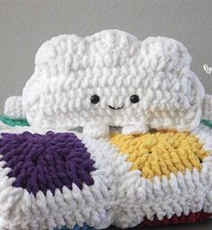 Crochet Amigurumi Cloud Pattern : 1000+ images about Free Amigurumi Crochet Patterns on ...