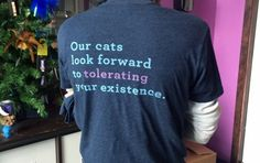 blue_cat_cafe-tshirt