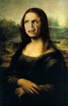 Mona Lisa + Voldemort.