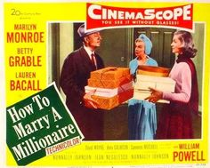 film 1953 - How to marry a millionaire - Divine Marilyn Monroe