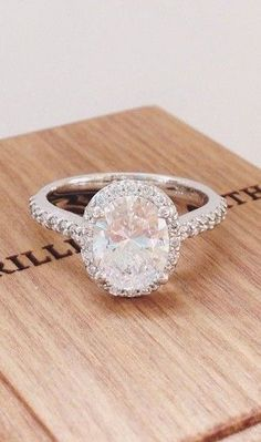 Halo Eternity Diamond Ring ❤︎