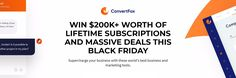 Win Lifetime Subscriptions and Massive Deals This Black Friday