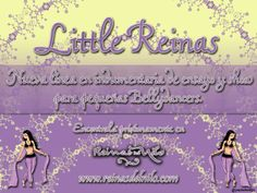 LITTLE REINAS! Clothes for Bellydancers from 3 to 13 years  design by Reinas del Nilo!