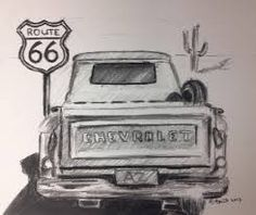 Image result for vintage truck drawings