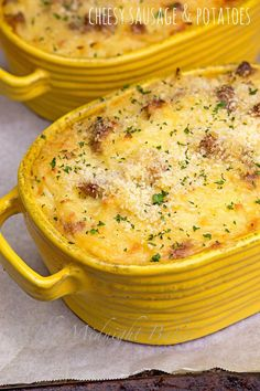 Sausage and potatoescasserole that's so creamy and cheesy it will have…