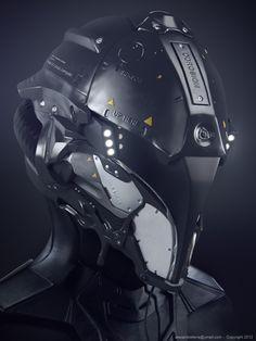 Helmet by Alexandre Ferra