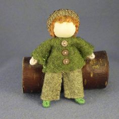 Acorn boy bendy doll | Flickr - Photo Sharing!...Dannielle