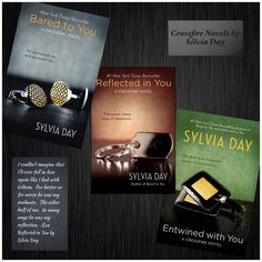 Crossfire Novels by Sylvia Day. Because a dirty mind is a terrible thing to waste.