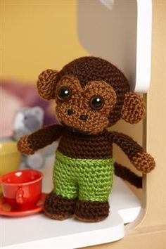 Clarence The Monkey - Crochet Me