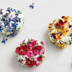 Edible Flowers - The Top Summer Entertaining Trends, According To Pinterest - Photos
