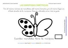 Fichas para mejorar la atención mariposas simetricas_22