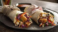 Panko-Crusted Chicken Wrap With Asian Slaw | MasterChef Australia