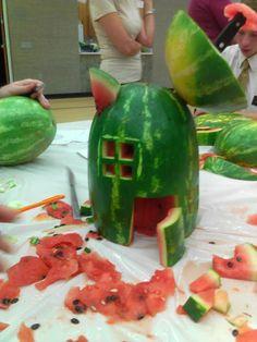 Mountain Park Ward: Watermelon Carving