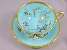Paragon Blue Chinoiserie tea cup and Saucer