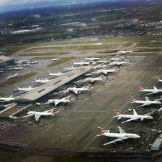 London Heathrow Airport (LHR) With British Airways.