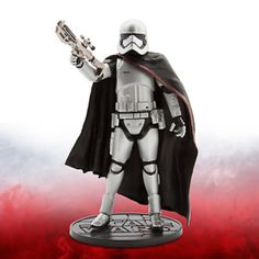 In collaboration with Lucasfilm, we present the Star Wars Elite Series Captain Phasma die-cast action figure. Add the First Order loyalist inspired by Star Wars: The Force Awakens to your collection for epic adventures. Star Wars Disney, Star Wars 7, Disney Infinity, Boba Fett, Star Wars Episodio 7, Caza Tie, Hot Wheels, Gwendolyn Christie, Walt Disney