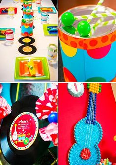 Music Theme Birthday, Music Themed Parties, 1st Boy Birthday, 2nd Birthday Parties, Little Einsteins Birthday, Music Party Decorations, Magic Theme, 1st Birthdays, Childrens Party