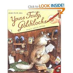 Yours Truly, Goldilocks.  I adore this book too!