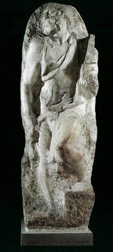 Michelangelo's Unfinished Slaves « Clara Lieu, Visual Artist Miguel Angel, Michelangelo Sculpture, Saint Matthew, St Mathew, Most Famous Artists, Italian Renaissance, Art World, Florence, Sculpting