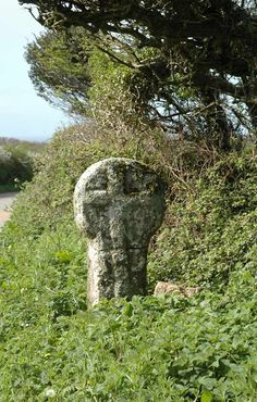 Celtic Cross - West Cornwall.  Cornwall is part of the Celtic remnant of England.  Unlike Wales, it is still part of England.