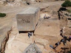 Arqueólogos encontram o maior bloco de pedra do mundo em Baalbek