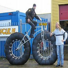 Apparently the fat bike is popular right now…