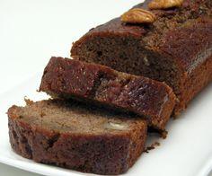 date pecan cake with maple glaze (sour cream, date spread, pecan, maple)