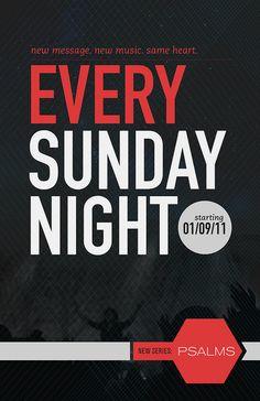 every Sunday night