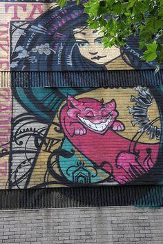 Graffiti in Urban Landscape Amazing Street Art, Best Street Art, 3d Street Art, Street Art Graffiti, Street Artists, Graffiti Murals, Graffiti Styles, Bristol Street, Landscape Art