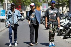 The Best Street Style from VLONE's Debut Show in Paris