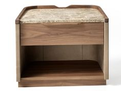 Products by Arte Brotto Leonardo Collection Bedroom Furniture Sets, Table Furniture, Home Furniture, Furniture Design, Bedroom Sets, Walnut Bedside Table, Bedside Tables, Leonardo Collection, Night Table