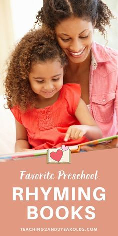 Our favorite rhyming books for preschoolers that are not only fun to read-aloud, but also build cognitive and language skills! #rhyming #books #literacy #reading #readaloud #preschool #3yearolds #4yearolds #teaching2and3yearolds Preschool Books, Toddler Preschool, Toddler Activities, Before Kindergarten, Kindergarten Reading, Books For Boys, Childrens Books, Llama Llama Books, Laura Numeroff