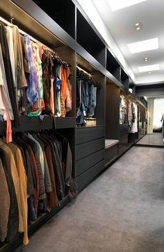 Гардеробная комната. Типы планировок и дизайн гардеробной