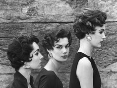 Love these vintage hair styles