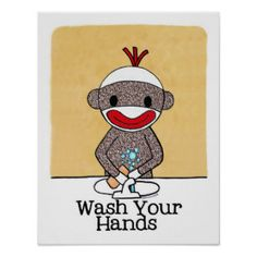 Wash Your Hands Gifts - T-Shirts, Art, Posters & Other Gift Ideas | Zazzle