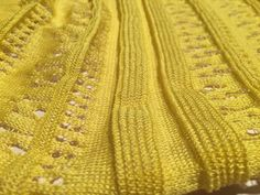 Close up on the lace and texture stripes.