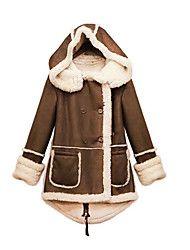 damesmode hoody jas met fleece aan de binnenkant – EUR € 19.99