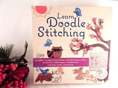 Learn Doodle Stitching Needle Craft Gift Set Aimee Ray CD Book and Supplies
