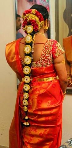 Bridal Work Blouse in Red | Saree Blouse Patterns