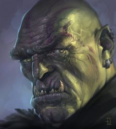Orc Commander by Dabana on DeviantArt