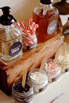 Pen N' Paper Flowers: STYLING | Hot Chocolate Bar