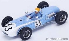 SPARK-MODEL S4821 Scale 1/43  LOTUS F1  18 N 33 GERMAN GP 1961 T.MAGGS LIGHT BLUE WHITE