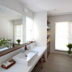 清瀬・清爽の家の部屋 洗面