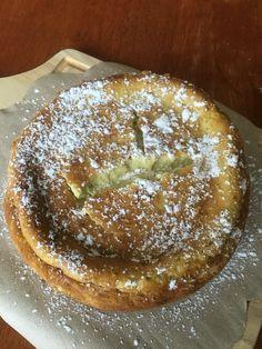 グリーンチーズケーキ