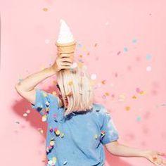 small plastic ice cream cone bank