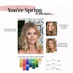 What's your colour season? The art of colour analysis. Olive Skin Blonde Hair, Medium Blonde Hair, Blonde Hair Blue Eyes, Yellow Skin Tone, Neutral Skin Tone, Cool Skin Tone, Hair Colors For Blue Eyes, Colors For Skin Tone, Skin Undertones
