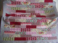 Cape Pincushion: Parisville quilt