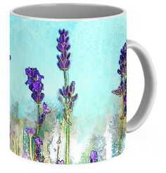 Mug: Lavender Watercolor art by K26Photopix