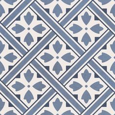 Nieves elfos ceramica Blue Floor Tiles x cm - Encaustic Style . Floor Patterns, Wall Patterns, Wet Room Screens, Hall Tiles, Tiles Direct, Tiles Price, Patio Tiles, Stills For Sale, Blue Floor