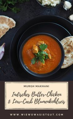 Leckeres Soulfood: Indisches Butter Chicken